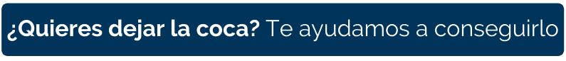 CTA - Texto - Quieres dejar la coca? Te ayudamos a conseguirlo